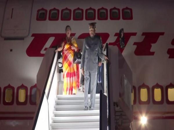 President Ram Nath Kovind arrived in Slovenia on Monday.