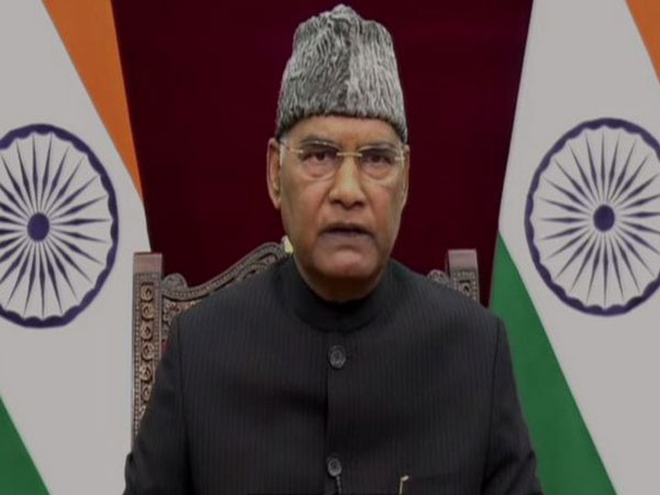President of India Ram Nath Kovind (Photo/ANI)