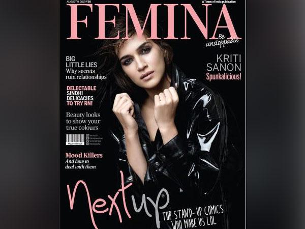 Kriti Sanon on the cover of Femina India (Image courtesy: Instagram)