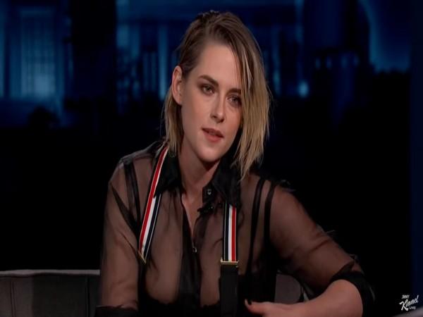 Kristen Stewart in a still from 'Jimmy Kimmel Live' (Image courtesy: Youtube)