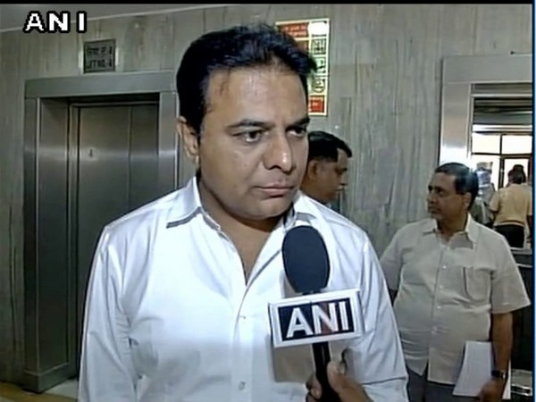 Telangana IT and Industries Minister KT Rama Rao (file pic)