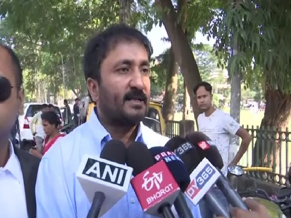 Anand Kumar speaking to media in Guwahati, Assam on Thursday. Photo/ANI