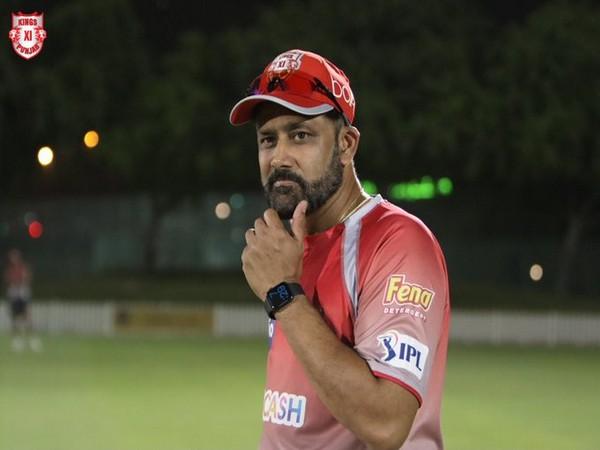 Kings XI Punjab head coach Anil Kumble (Photo/ Kings XI Punjab Twitter)