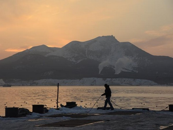 A view of Kunashir Island, one of the contested islands between Russia and Japan (Photo/Reuters)