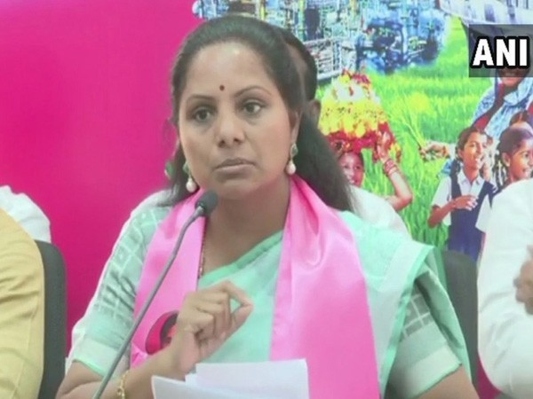 TRS leader Kavitha Kalvakuntla (File photo)