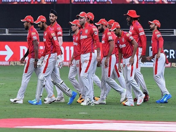 KXIP during a match in IPL 2020 (Photo/ KL Rahul Twitter)