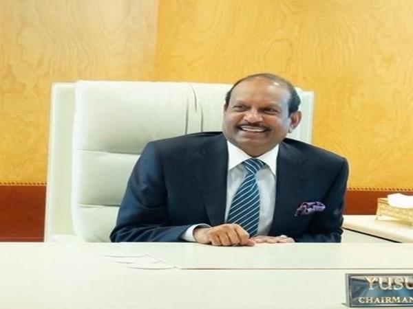 Indian businessman Yusuffali MA. (Photo credit: official Twitter handle of Yusuffali MA)