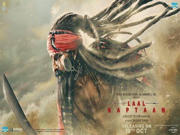 Poster of 'Laal Kaptaan', Image courtesy: Twitter