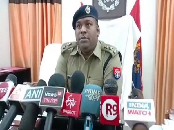 SP Lakhimpur Kheri, Satyendra Singh speaking to media on Friday.