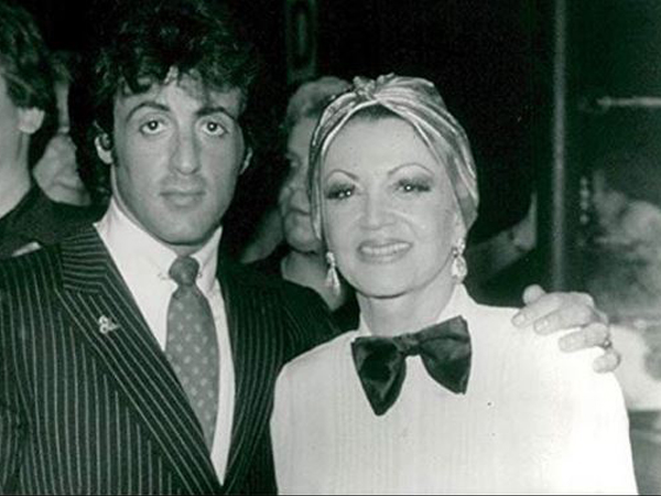Sylvester Stallone with mother Jackie Stallone (Image courtesy: Instagram)