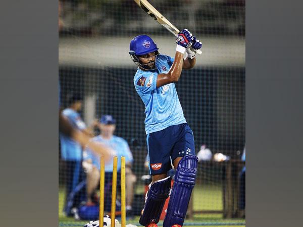Delhi Capitals batsman Lalit Yadav (Image: Lalit Yadav's Twitter)