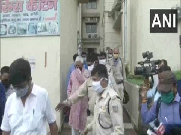 A visual when Lalu Prasad Yadav was shifted to RIMS director's bungalow in Ranchi. Photo/ANI