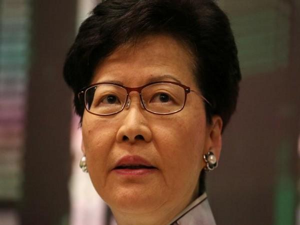 Hong Kong leader Carrie Lam (File photo)