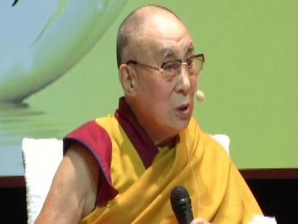 Tibetan spiritual leader, the Dalai Lama. [Photo/ANI]