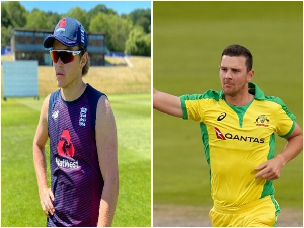 Sam Curran (L) and Josh Hazlewood (R)