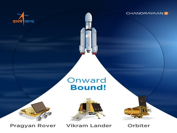 Chanrayaan-2 is scheduled to soft-land on early Saturday morning. (Photo/Twitter@isro)