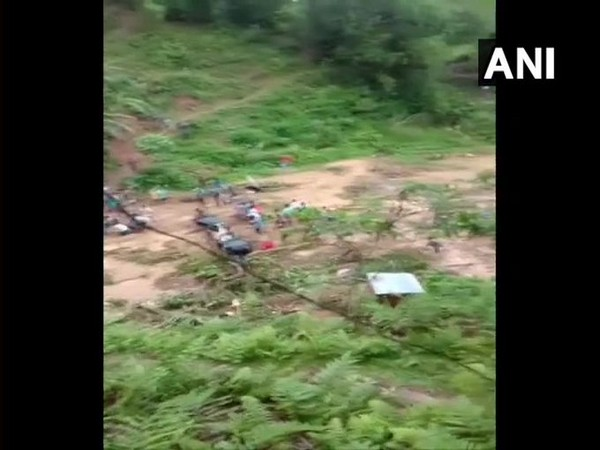 Visual from Lakhipur area of Cachar district in Assam. [Photo/ANI]