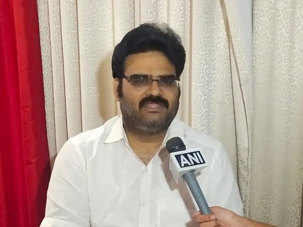 BJP leader Lanka Dinakar speaking to ANI in Hyderabad, Telangana on Saturday.