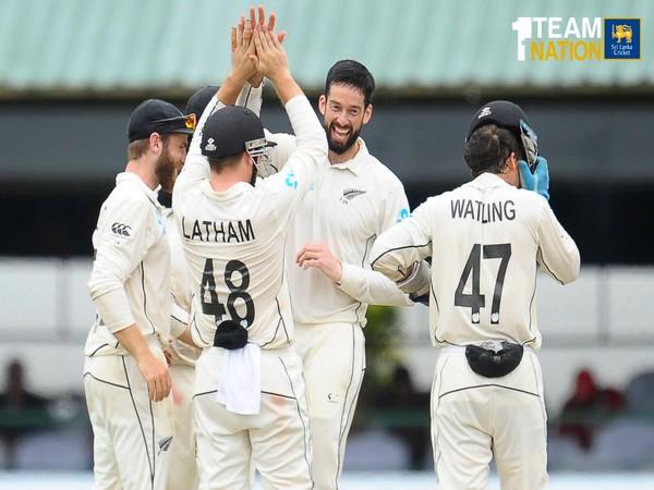 New Zealand won the second Test against Sri Lanka on Monday. (Photo/Sri Lanka Cricket Twitter)