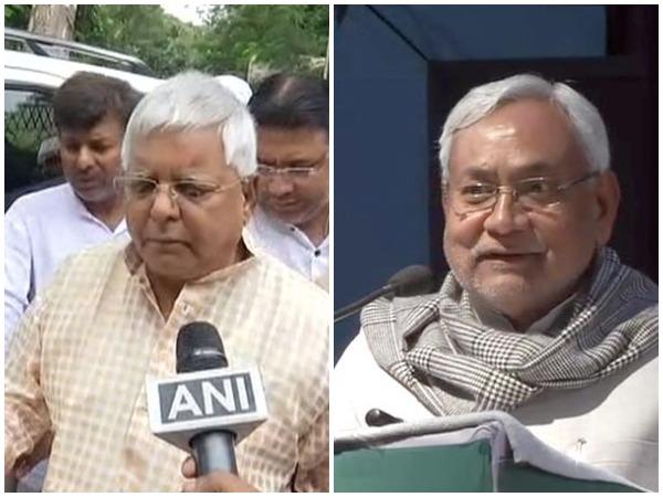 RJD chief Lalu Prasad Yadav (left), Bihar Chief Minister Nitish Kumar (right). (File photo)