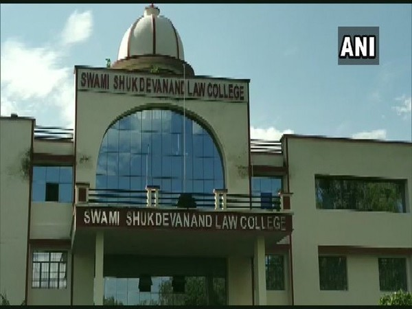 Swami Sukhdevanand Law College, Shahjahnpur, Uttar Pradesh, where the girl was studying. (File photo/ANI)