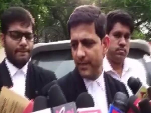 Lawyer Pushyamitra Bhargava speaking to media persons in Indore, Madhya Pradesh, on July 2.  Photo/ANI