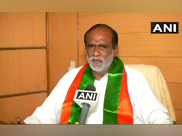 Telangana BJP president Dr K Laxman. File photo/ANI