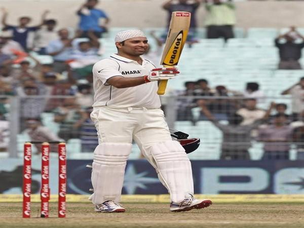 Former Indian cricketer VVS Laxman