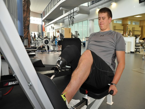 Common gym staple strength exercises like the leg press can alleviate the ill-effects of prolonged muscle inactivity.