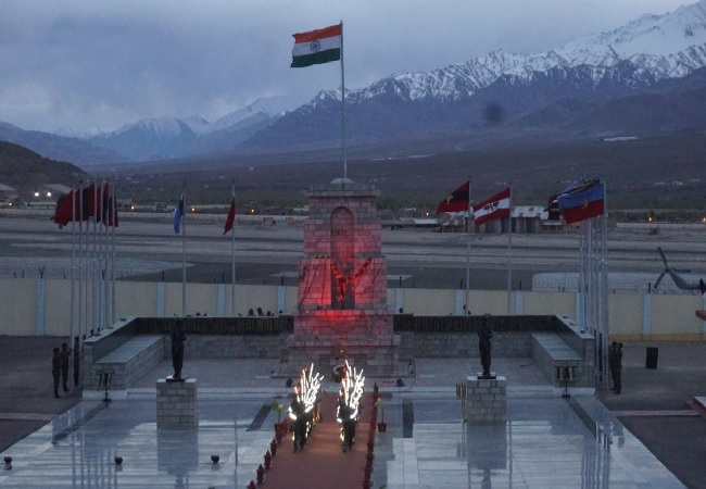 The Hall of Fame in Leh, Jammu and Kashmir (Photo/ANI)