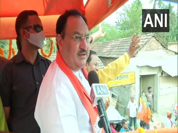 Bharatiya Janata Party (BJP) National President Jagat Prakash Nadda speaking to ANI on Tuesday.