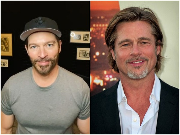 Harry Connick Jr. and Brad Pitt (Image courtesy: Instagram)