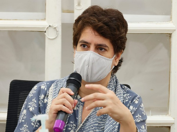 Congress general secretary Priyanka Gandhi Vadra (Photo/Twitter)