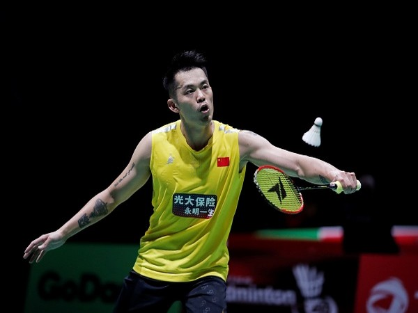 China's two-time Olympic badminton champion Lin Dan