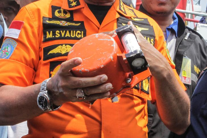 Black box of doomed Lion Air JT 610
