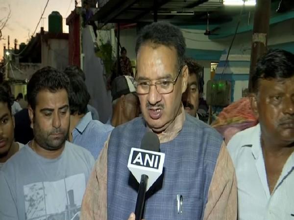 BJP MLA Ganesh Joshi speaking to ANI on Friday. Photo/ANI