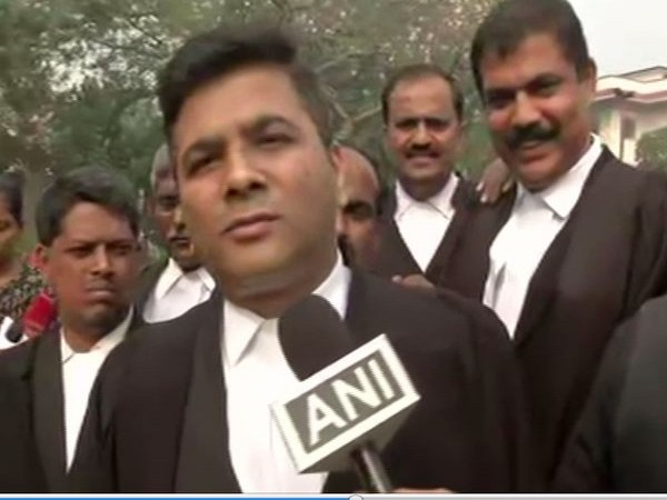 Lawyer Sandeep Patil speaking to ANI in New Delhi on Wednesday. (Photo/ANI)(