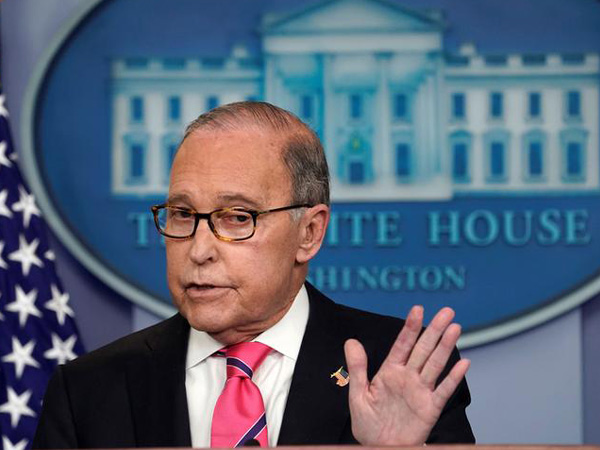 The Director of the National Economic Council under US President Donald Trump, Larry Kudlow