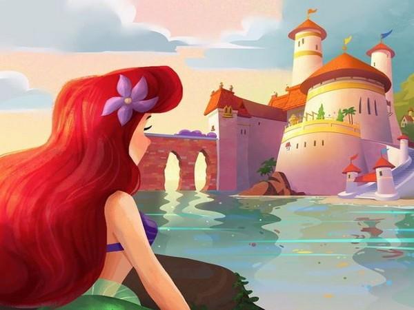 'The Little Mermaid' (Image source: Instagram)