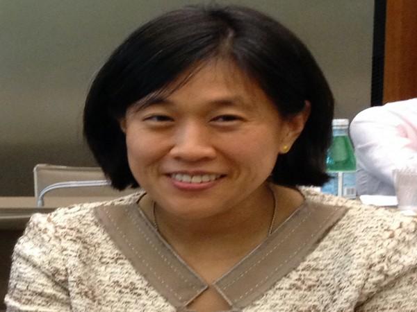 Chinese-American trade lawyer Katherine Tai