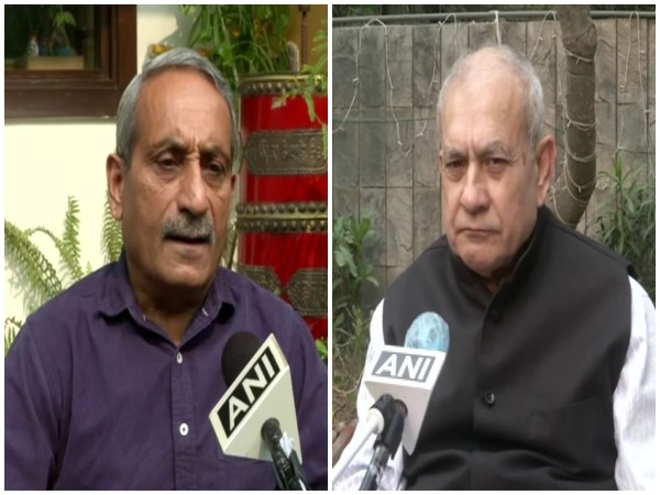 Defence experts Satish Dua (left) and SP Sinha (right) (Photo/ANI