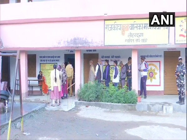 First phase of polling for 13 seats began in Jharkhand on Saturday morning.