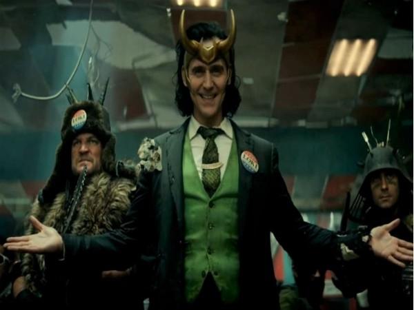 Tom Hiddleston as 'Loki'
