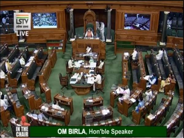 Lok Sabha monsoon session underway. (Picture credit: Lok Sabha TV)