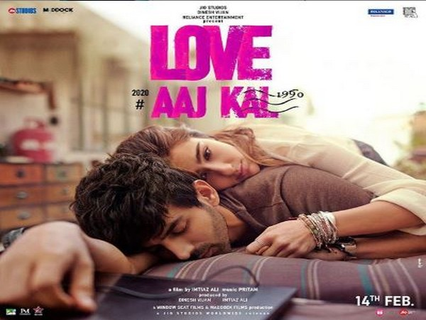 The first official poster of the upcoming movie 'Love Aaj Kal' (Image courtesy: Instagram)