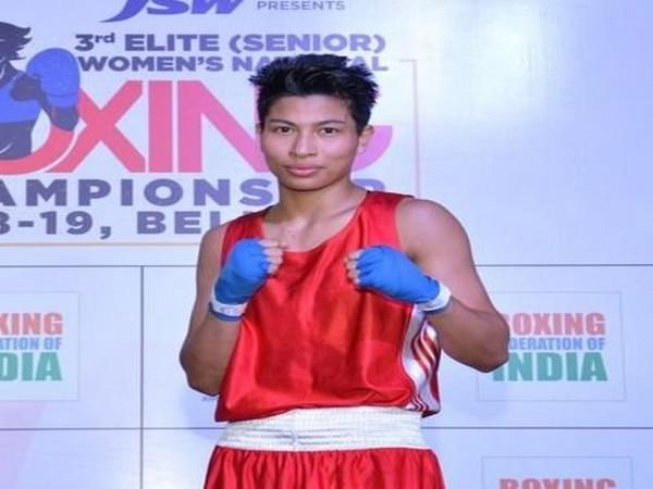 Indian Boxer Lovlina Borgohain (Image: Lovlina Borgohain's Twitter)