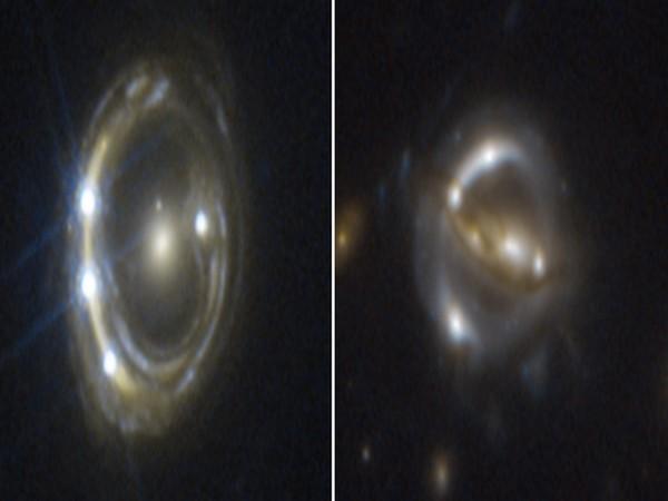 Mosaic of gravitationally lensed quasars (Image Source: NASA)