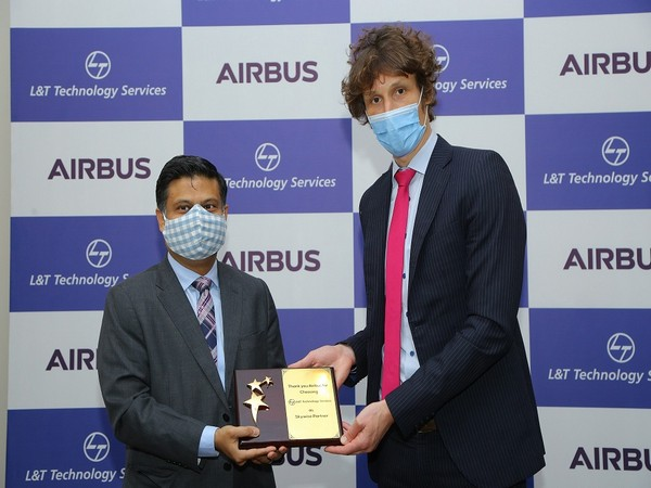 Abhishek Sinha commemorate LTTS joining the Skywise Partner Program