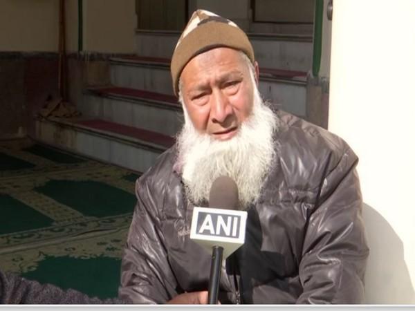 Syed Mohammad Ahmad Qasmi speaks to ANI in Dehradun on Friday [Photo/ANI]