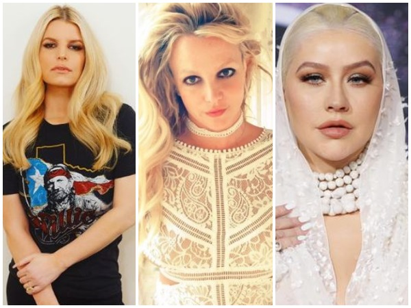 Jessica Simpson, Britney Spears and Christina Aguilera (Image courtesy: Instagram)